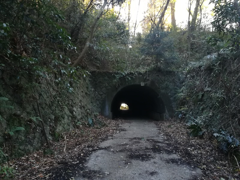 友部丘陵 笠間トンネル