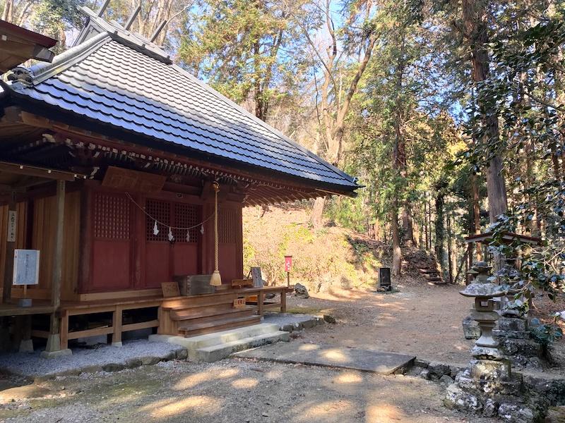 貴志嶋神社拝殿