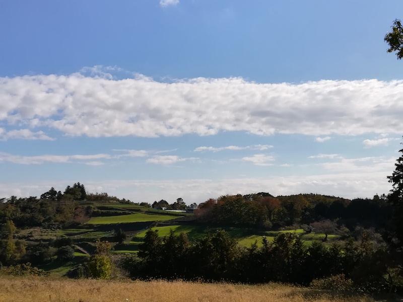 渋沢丘陵の田園風景