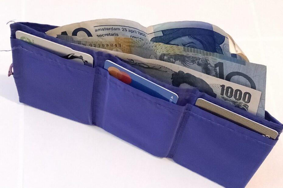 ミニマルな財布 The Butterfly Wallet