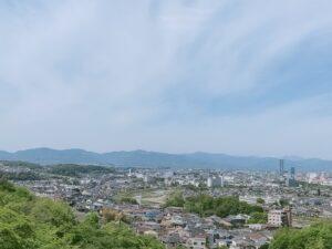平山緑地からの景色